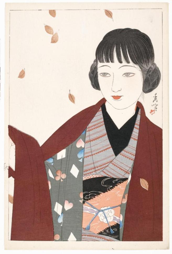 Fig. 3. Aki (Autumn). Shūhō Yamakawa [1927]. From The Honolulu Museum of Art.