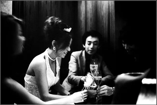 """Fig. 11. """"The hostess Mineri Hayashi at Club Celux in Tokyo,"""" Yuli Weeks. The New York Times, accessed April 21, 2020. https://www.nytimes.com/2009/07/28/business/global/28hostess.html."""
